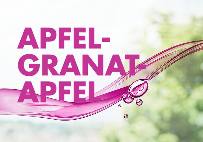 Elisabethen Vitamin Quelle Apfel-Granatapfel Schriftzug