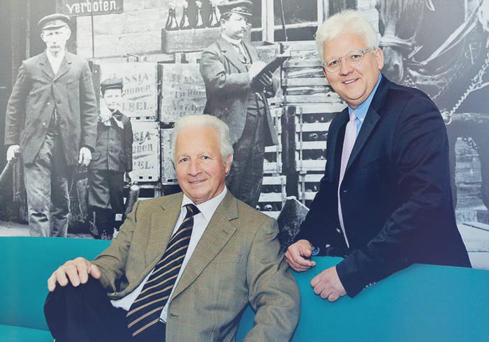 Die beiden Geschäftsführer Hinkel