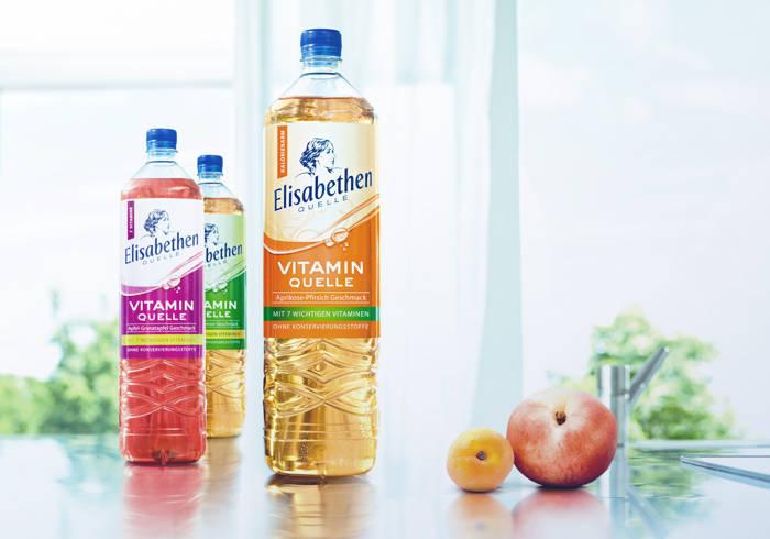 Elisabethen Vitamin Quelle Apfel-Granatapfel, Orange-Lemon und Aprikose-Pfirsich