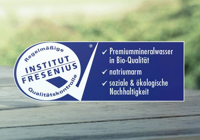 Qualitätssiegel des SGS Institut Fresenius