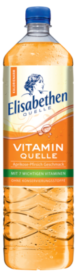 Elisabethen Vitamin Quelle Aprikose-Pfirsich 1,5 l PET Cycle