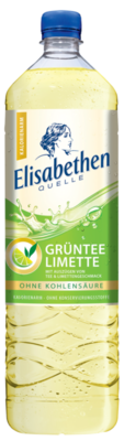 Elisabethen Quelle Grüntee-Limette 1,5 l PET Cycle
