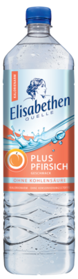 Elisabethen Quelle Plus Pfirsich 1,5 l PET Cycle