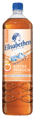 Elisabethen Quelle Eistee Pfirsich 1,5 l PET Cycle