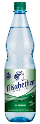 Elisabethen Quelle Medium 1,0 l PET Mehrweg