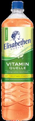 Elisabethen Vitamin Quelle Orange Lemon 1,5 l PET Cycle